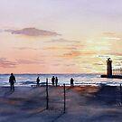 Michigan Sunset by Bobbi Price