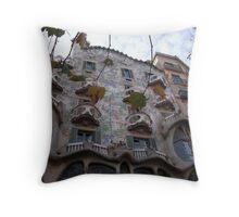 Casa Batllo – Barcelona Throw Pillow