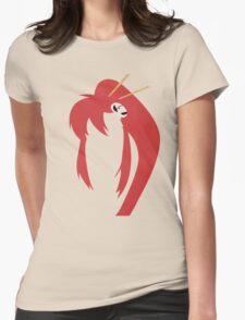 Minimalist Yoko Womens Fitted T-Shirt