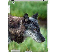 Grey Wolf     #0508 iPad Case/Skin