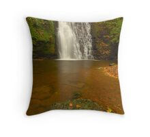 Falling Foss, Littlebeck, North Yorkshire Moors Throw Pillow