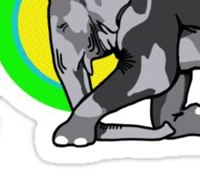 Buddha & The Elephant  Sticker