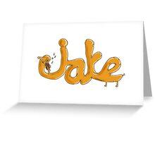 Adventure Time - Viola Playing Jake Greeting Card