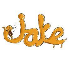 Adventure Time - Viola Playing Jake Photographic Print