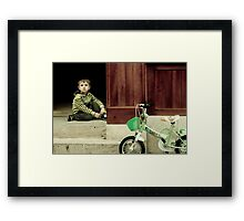 OnePhotoPerDay Series: 152 by L. Framed Print
