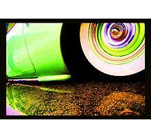 Slammed Reflection Acid Trip Photographic Print