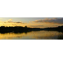 Sunset over Virginia Water Photographic Print