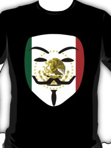 Anonymous Mexico T Shirts, Stickers and Other Gifts T-Shirt