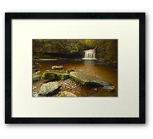 Cauldron Falls, West Burton, Bishopdale, Yorkshire Dales Framed Print