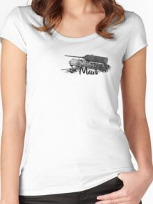 Maus Women's Fitted Scoop T-Shirt