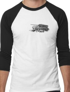 Maus Men's Baseball ¾ T-Shirt