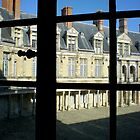 Outside Inside - Chateau de Fontainebleau, France by Britland Tracy