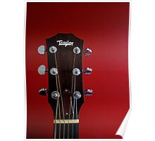 Taylor ...Quality Guitars Poster