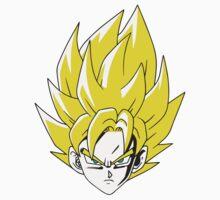 Goku Yellow/Gold Kids Clothes