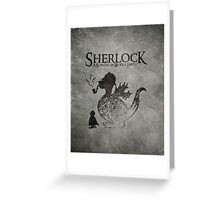 Sherlock: A Scandal in Middle-earth Greeting Card