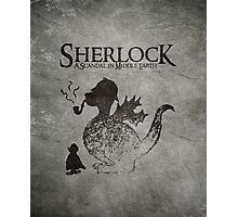 Sherlock: A Scandal in Middle-earth Photographic Print