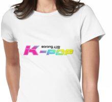 Sarang K-POP !! I Love K-POP !! Womens Fitted T-Shirt