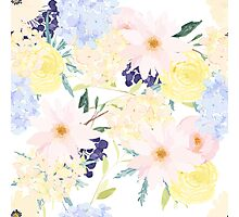 Summer Floral Pattern Photographic Print