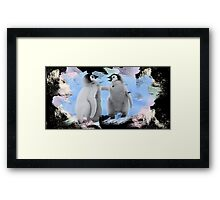 penguins 2 Framed Print