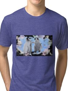 penguins 2 Tri-blend T-Shirt