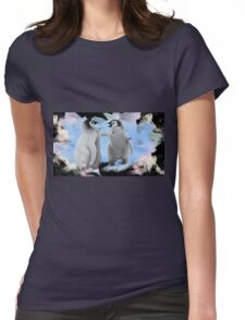penguins 2 Womens Fitted T-Shirt