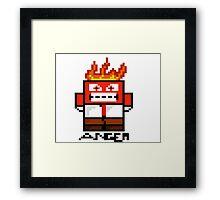 Anger! Framed Print