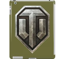 World of Tanks Logo iPad Case/Skin