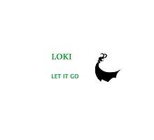 let it go LOKI by redbunnyKHK