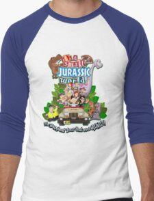 It's a Small Jurassic World (1A) Men's Baseball ¾ T-Shirt