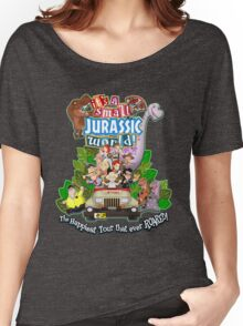 It's a Small Jurassic World (1A) Women's Relaxed Fit T-Shirt