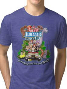 It's a Small Jurassic World (1A) Tri-blend T-Shirt
