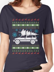 xmas wagon (lifted) Women's Relaxed Fit T-Shirt