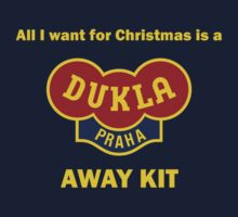 Dukla Prague Away Kit by Andrew Alcock