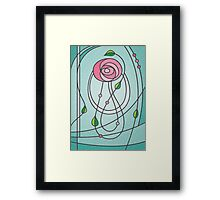 Mackintosh Rose Framed Print