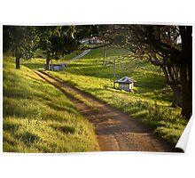 Beechmont Scene - Gold Coast Hinterland Poster