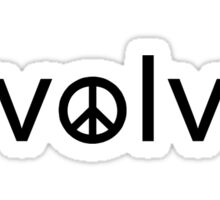 Evolve: Coexist in Peace Sticker