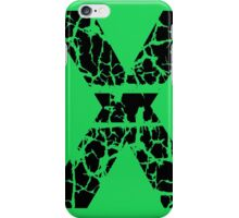Green and black iPhone Case/Skin