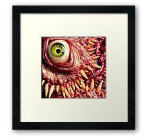 Green beast Framed Print