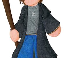 Plushie Harry Dresden by Kimberly Weatherston