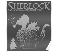 Sherlock: A Scandal in Middle-earth (Grey) Poster