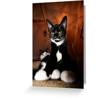 Lord of the Manor Greeting Card