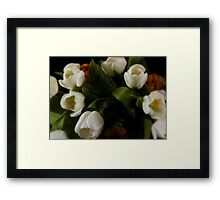 Tulips Bouquet Framed Print