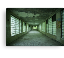 Hallway to Hell Redux Canvas Print