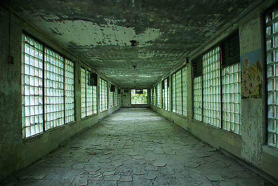 Hallway to Hell Redux by Katherine Anderson