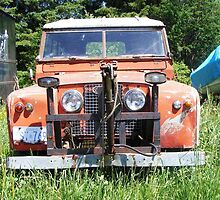 1963 Landrover with Home-made Winch by roserock