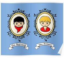 Arthur and Merlin Double Frames Poster