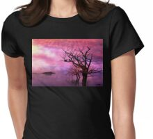 Raven Rest Stop Womens Fitted T-Shirt
