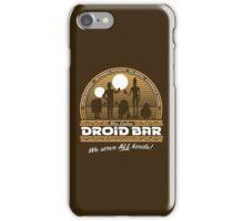 Droid Bar iPhone Case/Skin