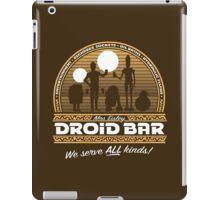 Droid Bar iPad Case/Skin