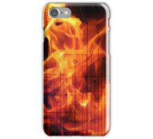 Digital Fire ,Virtual Flame iPhone Case/Skin